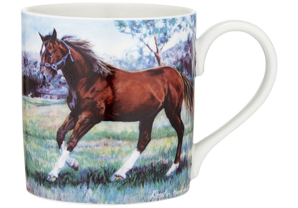 Beauty of Horses Mug - Cantering Spirit