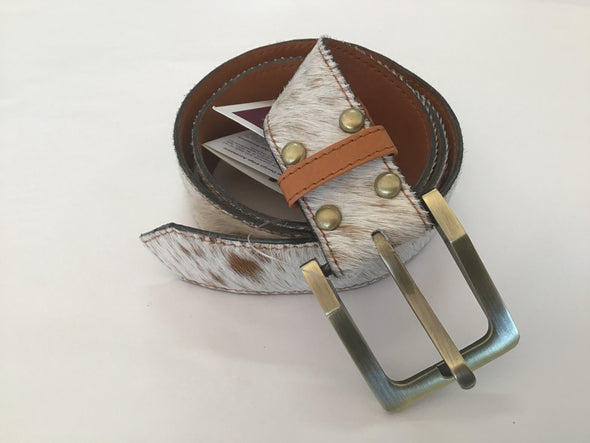 The Design Edge Cow Hide Belt