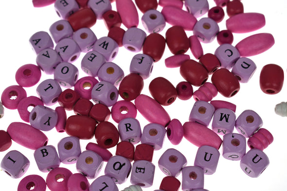 Yum Yum DIY Alphabet Bead Kit - Sugar Berry