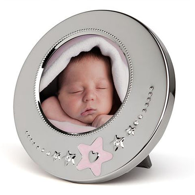 Pink Star Baby Frame