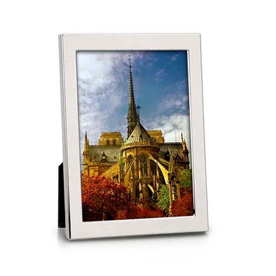 Silverplated Leo 5x7 Photo Frame