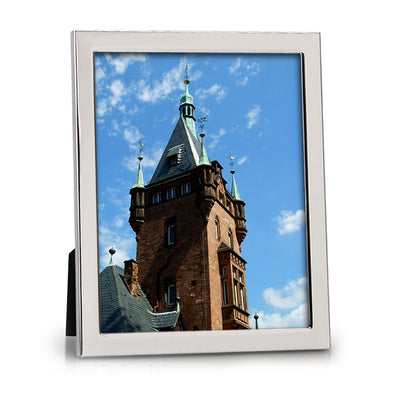 Silverplated Leo 8x10 Photo Frame
