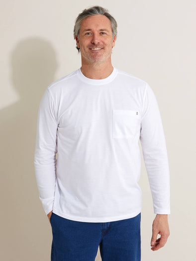 Bisley Casual Wear L/S Shirt - WHT