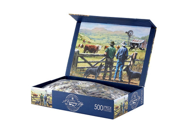 Observing The Herd 500 Pc Jigsaw Puzzle