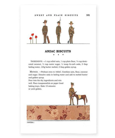 Red Tractor Anzac Biscuits Tea Towel