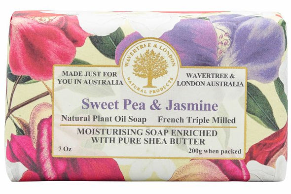 Sweet Pea Jasmine Soap