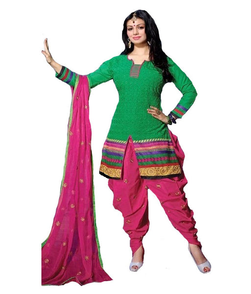 Patiyala Material Set  (unstitched) - 140600028 - HAMALSTAR - 1