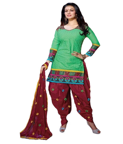 Patiyala Material Set  (unstitched) - 140600030 - HAMALSTAR - 1