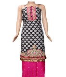 Patiyala Material Set  (unstitched) - 140600031 - HAMALSTAR - 1