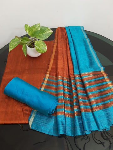 Churidar Material:-Top In Raw Silk  Duppata in Raw Silk and  Bottom in   Cotton Silk (Un-stitched) -190100340