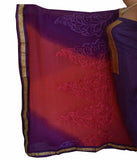 Churidar Material -  Top in Chandery Silk,Dupatta in Crape and Bottom in Cotton Silk (Unstitiched) - 140200093 - HAMALSTAR - 2