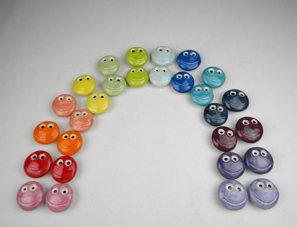 Happy face magnets