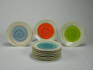 Swirl Lunch Plate