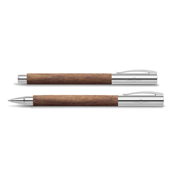 Faber-Castell Ambition walnut roller