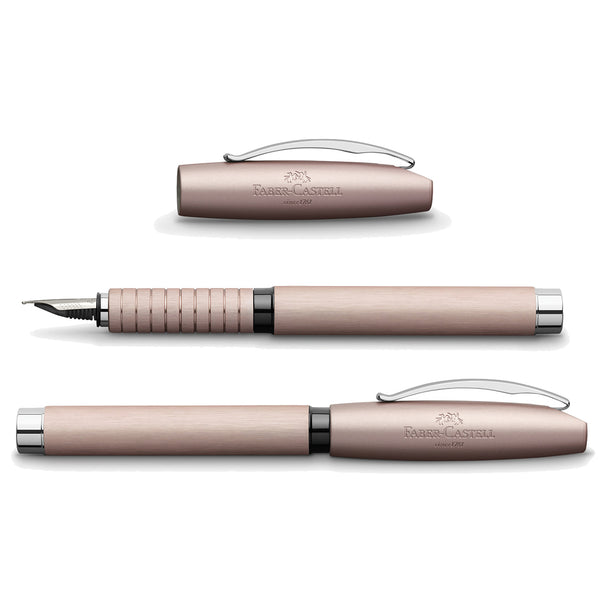 Faber-Castell Essentio Aluminum rosé fountain pen