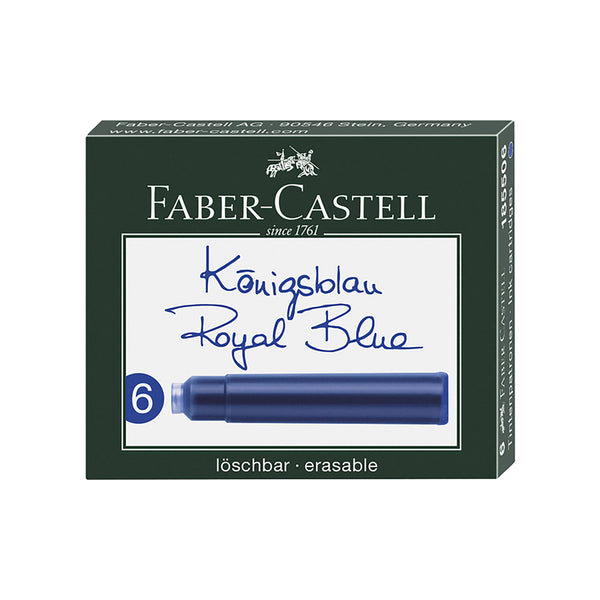 Faber-Castell ink cartridges | 4 colors
