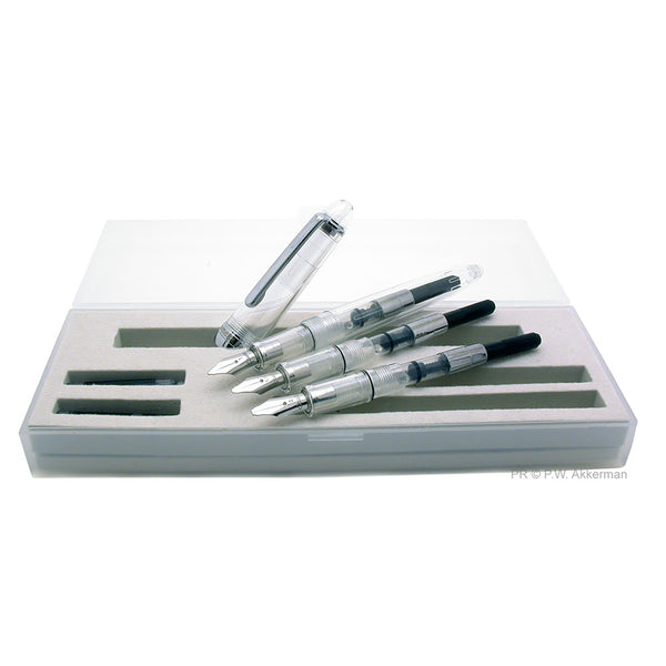 Monteverde Monza Crystal Clear calligraphy set