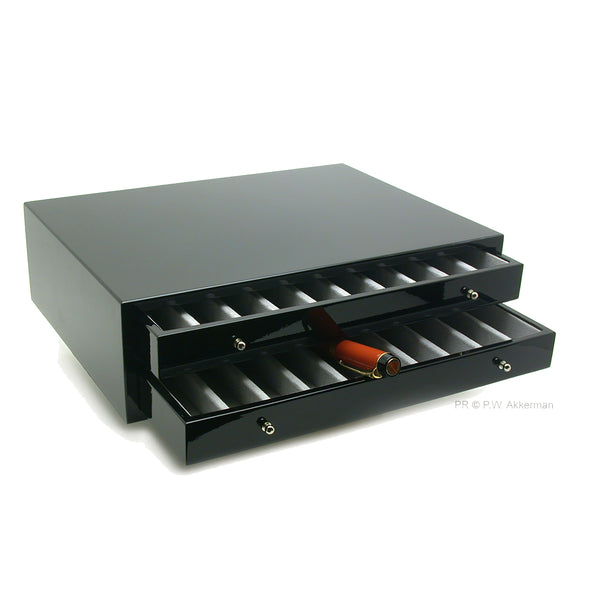 Morici Anima pencil box with two drawers