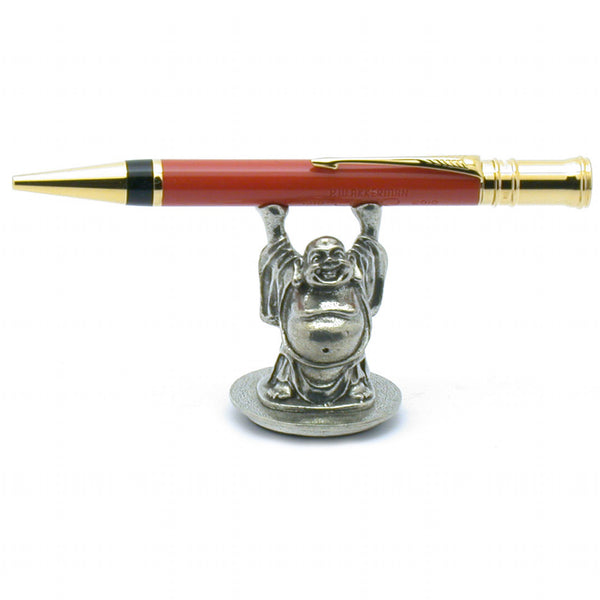 Jac Zagoory Designs pen stand happy Buddha