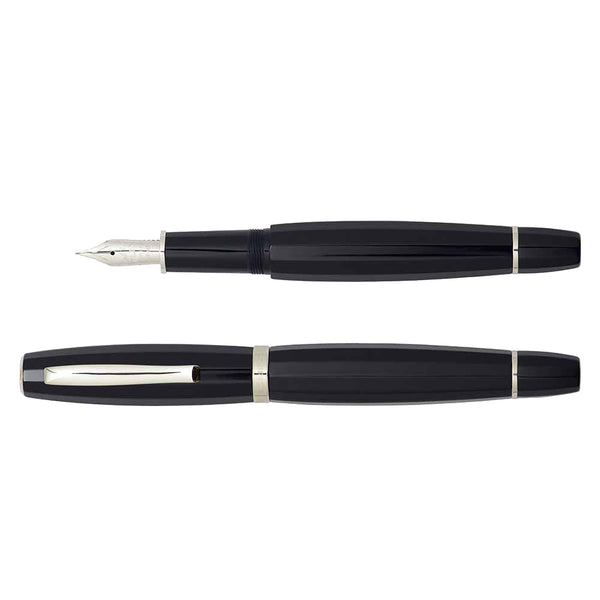 Scribo Feel Blue Black fountain pen