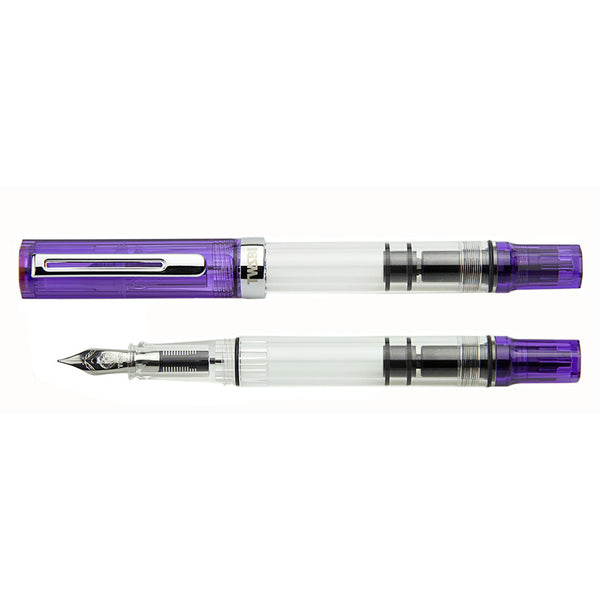 TWSBI ECO transparent purple vulpen - P.W. Akkerman Den Haag