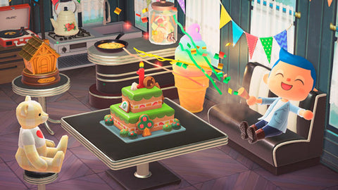 acnh-mailbox-surprise-birthday-cake-nintendo.com | Animal Crossing Update: New Content and Improvements