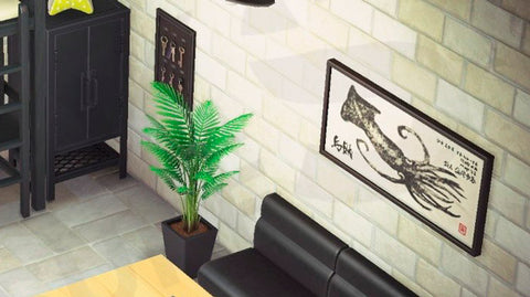 kristen-studio-appartment-wall-decorations | Animal Crossings Studio Apartment Layout and Design Ideas