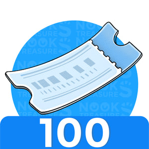 Nook Miles Tickets - 100