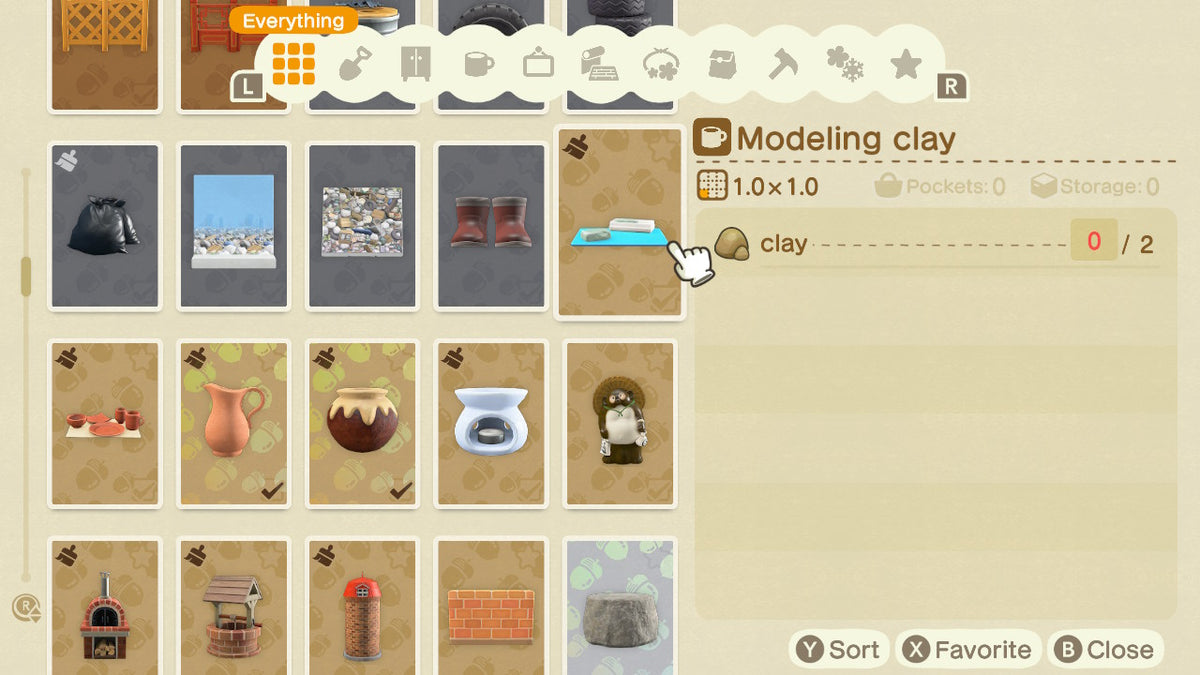 Picture of: Buy All Clay Diy Recipes Animal Crossing Nooks Treasures
