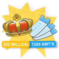 676 Royal Crown's + 7200 NMT's