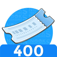 Nook Miles Tickets - 400