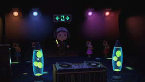 Mini Dance Rave Room