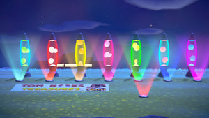 Lava Lamp Floor Light Set