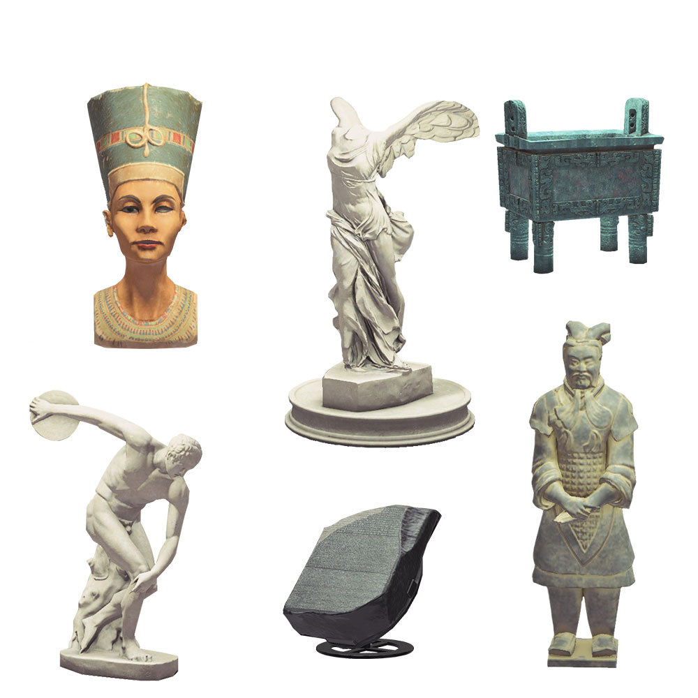 All 13 Authentic Statues