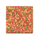 Colored-Leaves Flooring