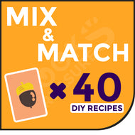 40 DIY Recipes - You Choose