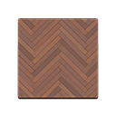 Dark Herringbone Flooring