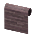 Dark Wooden-Mosaic Wall