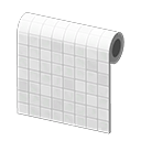 Monochromatic-Tile Wall