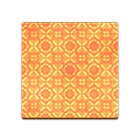 Orange Retro Flooring
