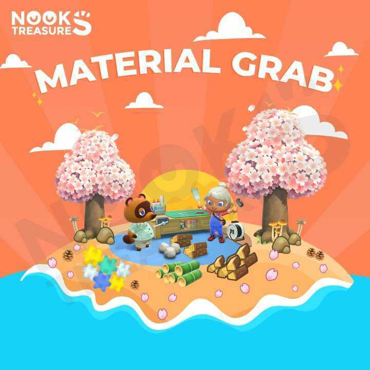 Material Grab - All your crafting needs!