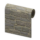 Rustic-Stone Wall
