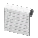 White Subway-Tile Wall