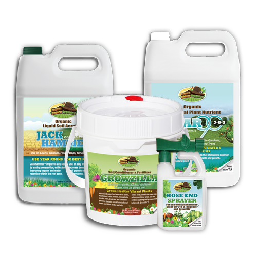 Best Organic Turf Care Bundle