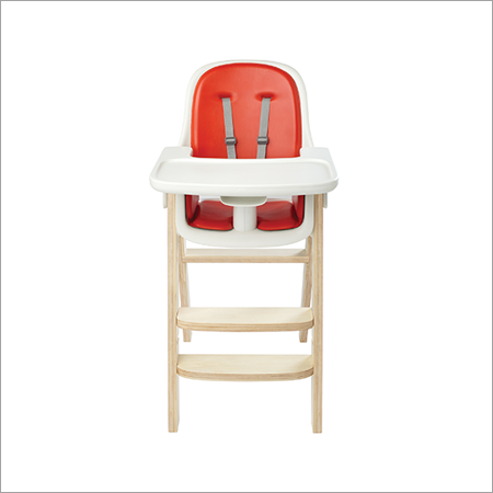OXO Tot Sprout High Chair Orange/Birch