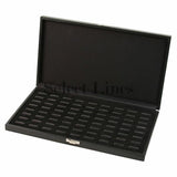 "Slot Ring Tray Case 72-Ring Case Display 1-5/8"" H."