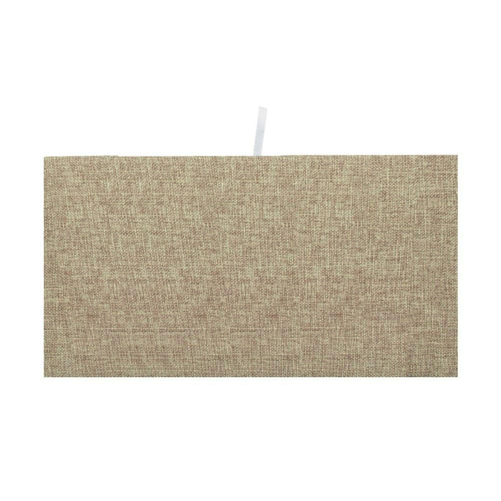 "Burlap Deluxe Pad Tray Insert 7-5/8"" H"