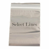 "100pc Pack Re-Sealable Zipper Bags 3""x 4"" H"