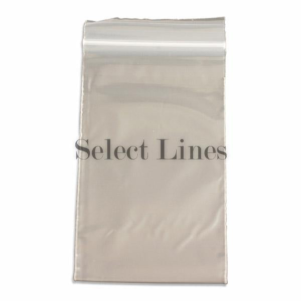 "100pc Pack Re-Sealable Zipper Bags 3""x 5"" H"