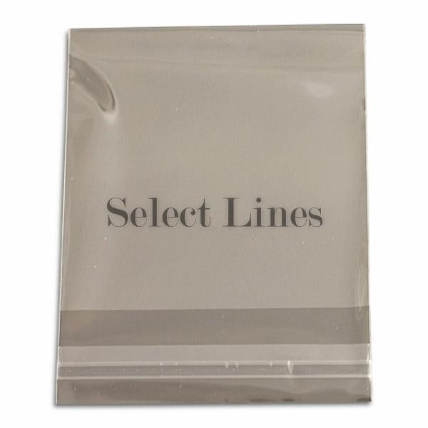 "100pc Pack Ultra Clear OPP Bags w/ Adhesive Seal 3""x 3"" H"